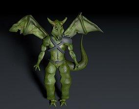 Demon- Custom 3d model demon