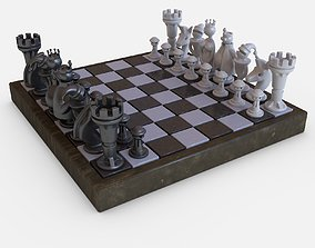 Chess Game art 3D