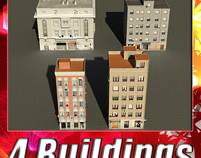 Building Collection 41-44 3D model