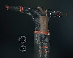 Male Medieval Outfit 1 3D model