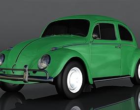 Volkswagen Beetle 3D asset