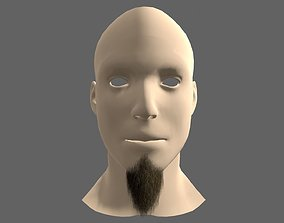 3D model Beard Styles Large Flavour