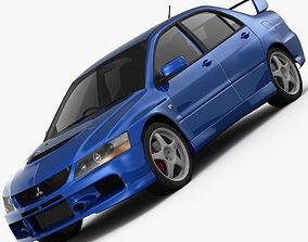 Mitsubishi Lancer Evolution 9 GT 2006 3D