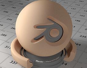 3D asset game-ready Skin Shader
