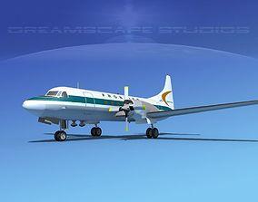 Convair CV-580 Frontier 1 3D model