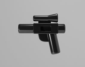 Lego Star Wars Blaster Pistol 3D model