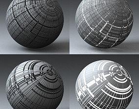 Syfy Displacement Shader H 3D model