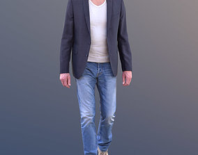 Lars 10421 - Walking Casual Man 3D asset