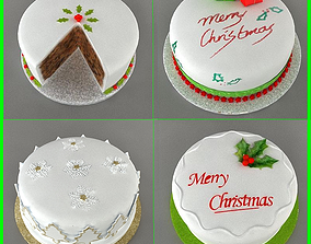 pastry 3D model Cakes collection