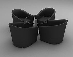 3D Sofa Set living