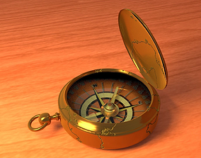3D OLD COMPASS