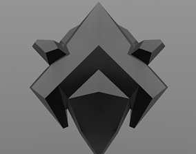 3D printable model Overwatch Reaper Nevermore Chest Armor