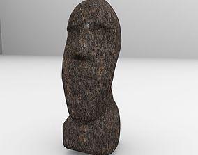 statue Moai Statue 3D model