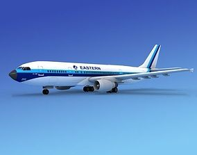 Airbus A300 Eastern 1 3D model