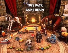 3D asset Toys pack