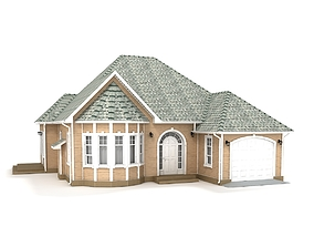 Cottage 81 3D model