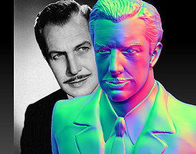 Vincent Price Bust 3D printable model 1950s