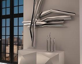 3D Modern Sculpture 2