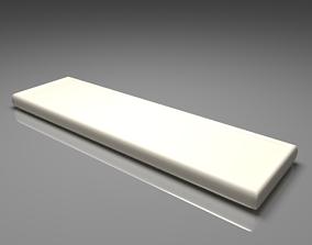 3D model White Chocolate Bar 1