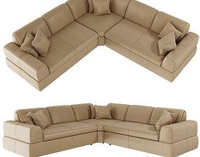 Alberta Salotti sofa Accabi 3D model