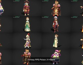 3D Fantasy RPG Palace