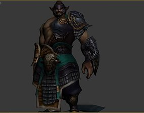 3D asset viking