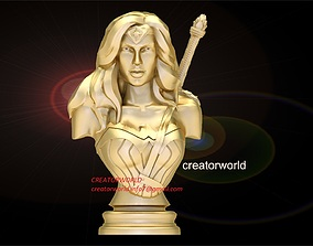 3D print model Wonder woman Bust