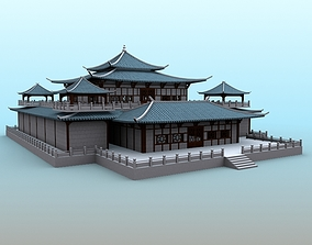 Chinese Architecture 05 3D
