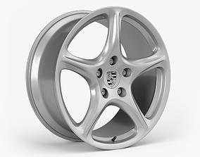 Porsche Carrera S Wheel 3D model