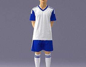 3D Soccer player 1114-12