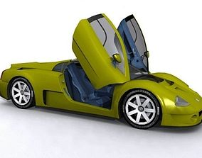 Volkswagen W-12 GTX 3D asset