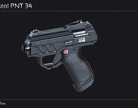 Scifi Pistol PNT 34 3D model