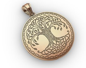 3D print model Pendant Tree