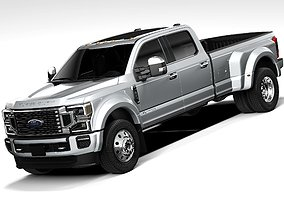 3D Ford F450 SuperDuty 2020