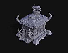 Orc Base Fortress 3D print model