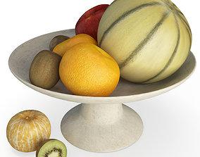 Cup of fruits 3D model