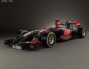 Lotus E22 2014 3D