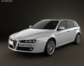 Alfa-Romeo 159 Sportwagon 2011 3D model