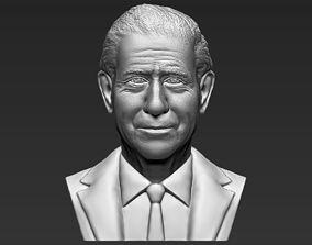 Prince Charles bust 3D printing ready stl obj