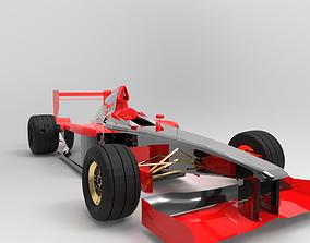FERRARI-F399 3D model