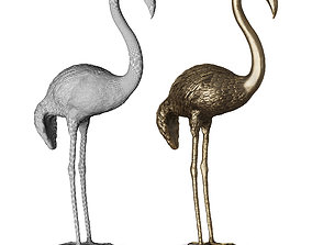 3D asset Bronze Heron Samargue by Marie Martin