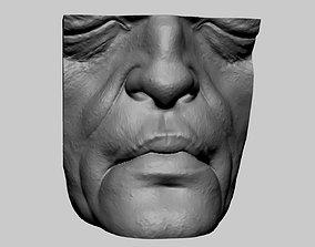3D Creature Lip Nose