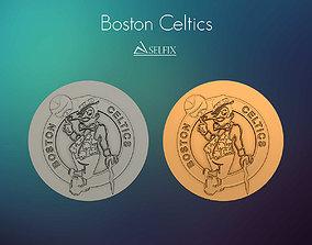 Boston Celtics Logo 3D Relief signs