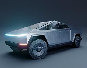 Tesla Cybertruck 3D PBR