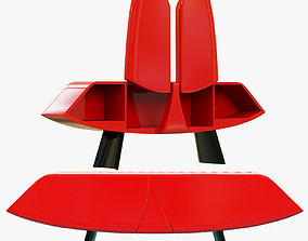 3D Roche Bobois papillon sideboard