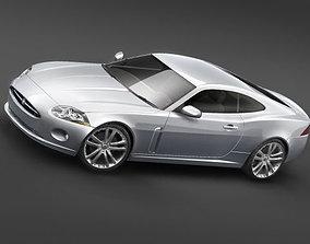3D model Jaguar xk 2007