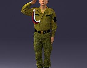 3D printable model soldier 0915