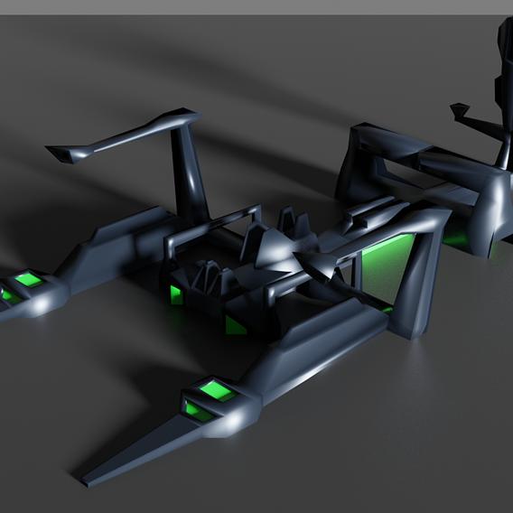Scorpion Spaceship