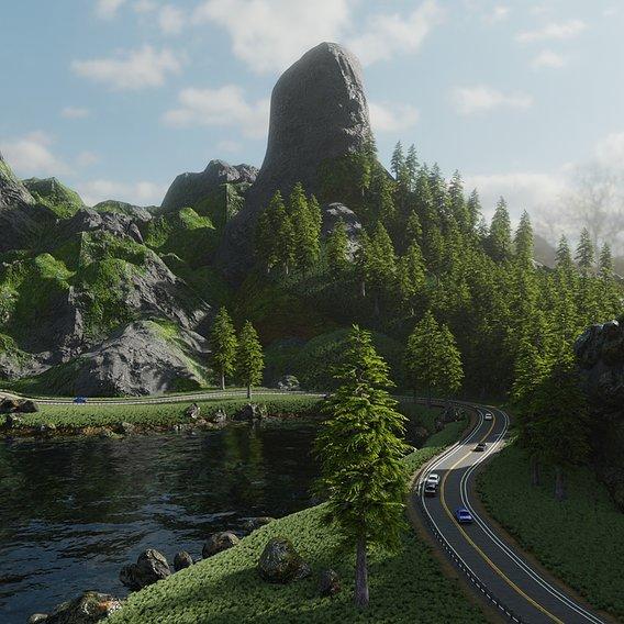 Highway Scene | Scene 54