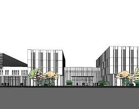 3D model Region-City-School 61